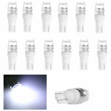 12pcs T10 Wedge Samsung High Power  LED Light Bulbs Xenon White 5W 2 LED 5630
