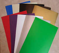 """10 sheet-12""""x12""""Oracal 651-shiny-Adhesive Backed Vinyl-Craft-Hobby-Sign Cutters"""