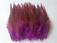 DIY HOT! Beautiful 50pcs rooster tail feathers 10-15cm / 4-6inch 30 Colors