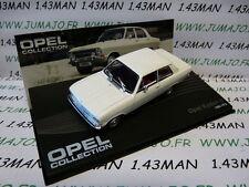 voiture 1/43 IXO eagle moss OPEL collection n°52 : KADETT B Limousine 1965/1973