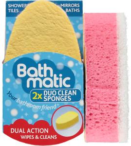 Bathmatic Duo Clean Sponge (2x DUO CLEAN SPONGES)