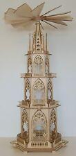 Bausatz Gotische Pyramide Weihnachtspyramide 84cm
