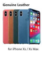 """Cuero caso cubierta de piel para iPhone XS 5.8""""/iPhone XS Max 6.5"""" 2018"""