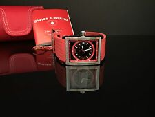 Swiss Legend Men's 40012-01-RDA Limousine Black Dial Red Watch AWESOME WATCH