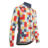 Mens Women Long Sleeve Cycling Jerseys Outdoor Sports Riding Riding Bike Shirt