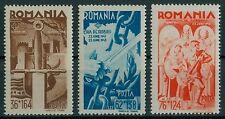 Rumänien 1943 Mi.760-62 ** 2 Jahre Kriegseintritt,Bucovina,Basarabia,Patronaj