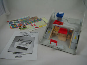 Micro Machines - Secret Auto Supplies - BATTERY / AIRPORT, 1989 Galoob