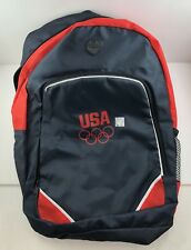 Team USA Olympics Promotional Products - Backpack Navy Blue Light Weight - NEW