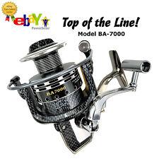 PREMIUM Spinning Fishing Reel 13+1 BB 4.7:1 Gear Ratio CNC Metal Spool Light Wei