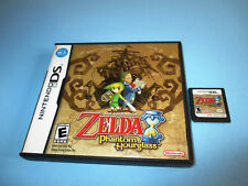 The Legend of Zelda Phantom Hourglass (Nintendo DS) w/Case & Manual