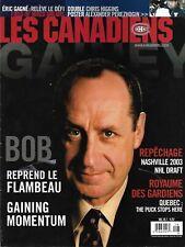 Montreal Canadiens - Ottawa Senators 2003 Pre-Season NHL Official Program Gainey