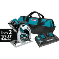 "Makita XSH01PT 18V X2 LXT® (36V) Cordless 7‑1/4"" Circular Saw Kit, 5.0Ah"
