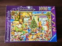 1000 Piece Christmas Jigsaw Puzzle - RAVENSBURGER - 'The Christmas Shop'
