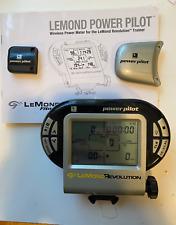 Lemond Power Pilot Meter:Wireless Power Meter for the Lemond Revolution Trainer