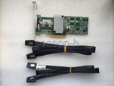 LSI00202 Megaraid SAS 9260-8i RAID controller+2PCS SFF-8087 to SFF-8087 cable