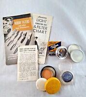 Kodak Series 5 Lens Daylight Filter Type F + Tiffer #80 Filter + Adapter Ring +