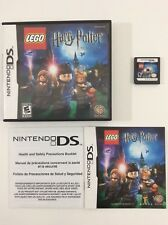 Lego Harry Potter Years 1-4 Nintendo DS CIB Complete Auth Tested
