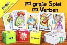 NUOVO e SIGILLATO Il grande gioco di verbi-Das Spiel lordo der VERBEN