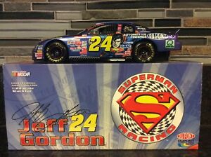 1999 Jeff Gordan #24 Dupont Superman CWB 1:24 1 of 10000