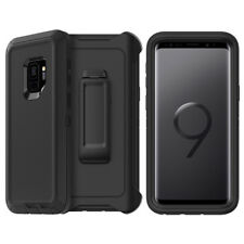 Galaxy S9 Plus Case w/ Screen Protector Belt Clip Fits Otterbox Defender Series