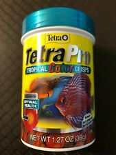 Tetra TetraPRO Tropical Color Crisps With Biotin for Fishes 1.27-Ounce 0787