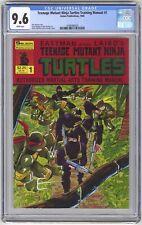 Teenage Mutant Ninja Turtles Training Manual #1 CGC 9.6 HIGH GRADE Solson Pub