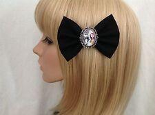 Nightmare before Christmas hair bow clip rockabilly disney jack skellington