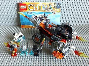 Lego Chima  - 70222 - Tormak's Shadow Blazer  + Notice