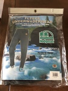 New Hodgman Fleece Underwaderwear Blk Medium