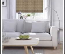 """First Rate Woven Wood 51""""W x 48""""L Ashbury Woven Shade Roman Wood Shades"""