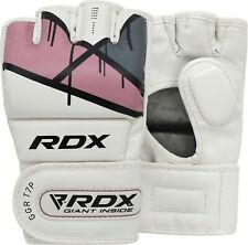 RDX Ladies MMA Gloves Training Martial Arts Women Cage Fight Muay Thai Grappling