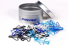 BOEING Aircraft Office PAPERCLIPS Tin Airplanes Colors Desk Collectable Gift NEW