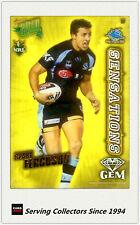 2010 Select NRL Champions Sensation Gem Card SG7:Blake Ferguson (Sharks)
