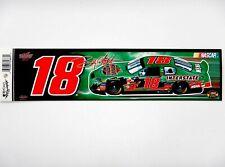 Bobby Labonte #18 Interstate Batteries Bumper Sticker/Strip (Nascar)(2004)