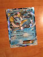NM Pokemon VAPOREON EX Card GENERATION Set 24/83 XY Ultra Rare 20th Anniversary