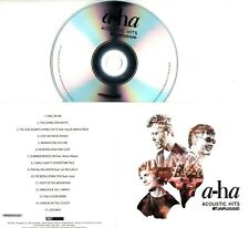A-HA Acoustic Hits 2017 UK 15-trk promo test CD