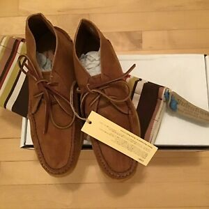 Men's Authentic Yuketen All Handsewn Chukka Suede Desert Boot Shoe Size 9  E