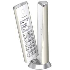 Panasonic KX-TGK220 Design-Schnurlos-Telefon mit Anrufbeantworter champagner