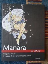 MANARA LE OPERE colori,b/n completa vol.1-21