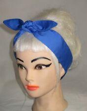 Royal Blue Nautical Rockabilly PIN UP wire headband