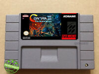 Contra III : The Alien Wars   SNES Video Game [USA] Version