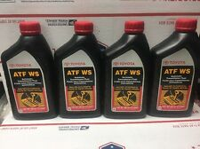 4 QTS GENUINE TOYOTA ATF WS Automatic Transmission oil Fluid ATFWS Lexus Scion