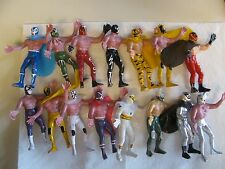 Vintage Rare Mexican Luchador Wrestling Action figure Lot