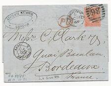 GREAT BRITAIN Scott #43 Pl #11 London 1869