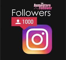+ 1000 Followers Per Crescita Account (no Account)