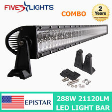 50inch 288W  LED Light Bar Combo Work Offroad Driving 4WD UTE MINING TRUCK