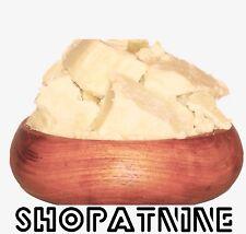 Organic UNREFINED Shea Nut Butter 100% Pure Raw Natural Balms Skincare Free Post