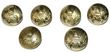 American Civil War ACW Union Eagle Reproduction Large Jacket Buttons X 6
