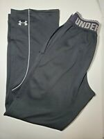 Mens Under Armour UA Black Performance Running Workout Track Pants Size Small