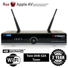 OCTAGON SF8008 4K UHD E2 Linux Dual DVB-S2X Satellite Receiver With WiFi